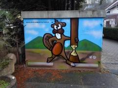 graffiti stromhäuschen trafostation baiertal bieber_klein