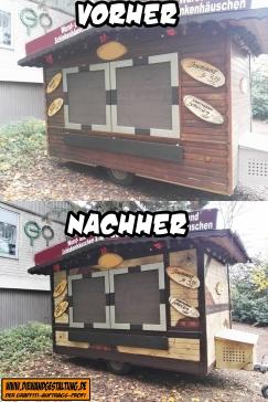 verkaufswagen vorher nachher billmaier die wandgestaltung fachwerk graffiti sprayer gesprüht heidelberg graffitiauftrag sinsheim karlsruhe